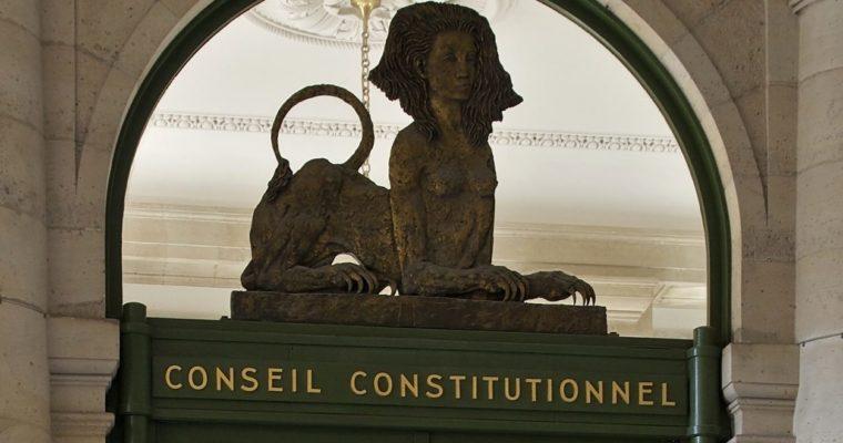 Une démolition du Conseil constitutionnel par son ancien président