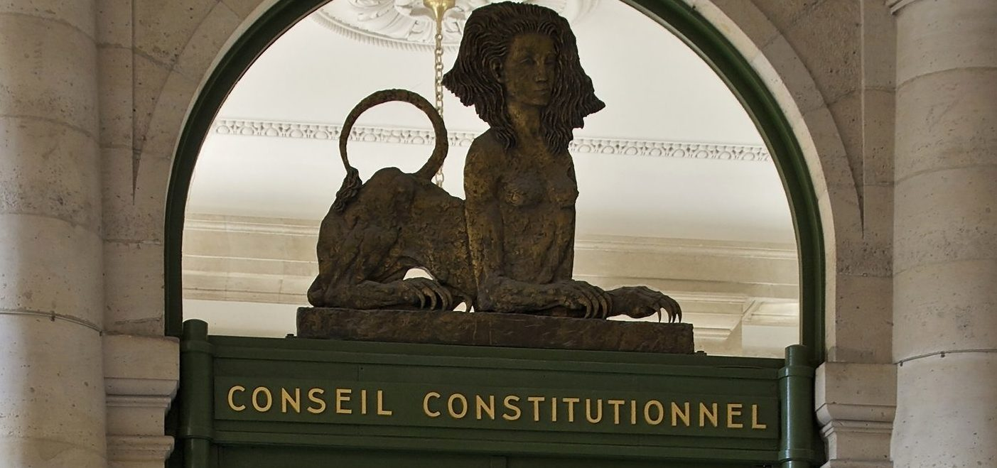 Le Conseil constitutionnel et les portes étroites