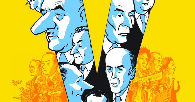 <b> La Ve République en bande dessinée : un miroir grossissant mais intéressant</b> </br> </br> Par Olivier Beaud