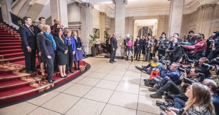<b> Un nouveau groupe parlementaire? Oui, mais à Westminster! </b> </br> </br> Par Damien Connil