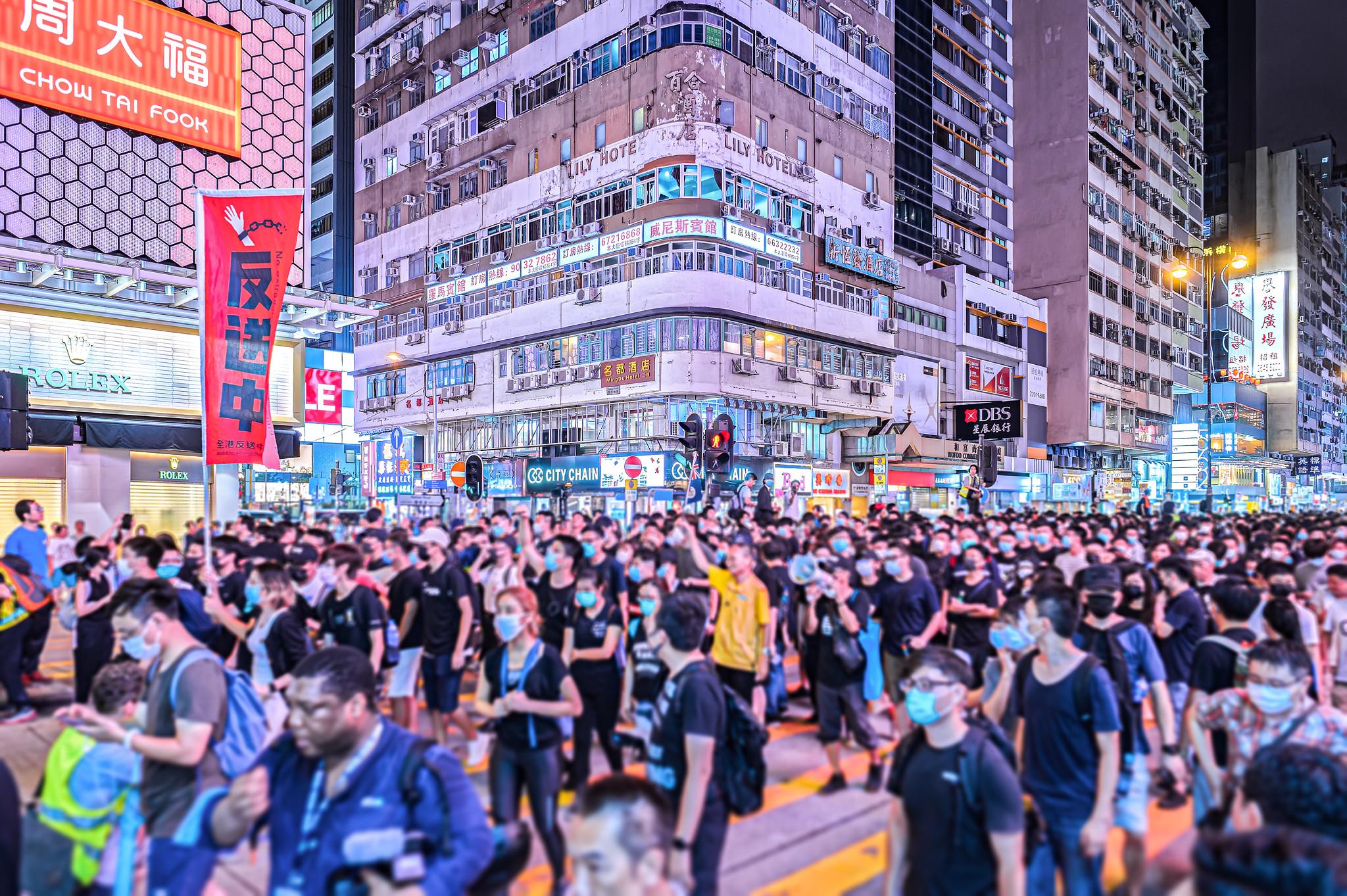 <b> Port de masques en manifestations:  Retour sur la décision de la Cour d'Appel de Hong Kong du 9 avril 2020 </b> </br> </br> Par Eugénie Mérieau