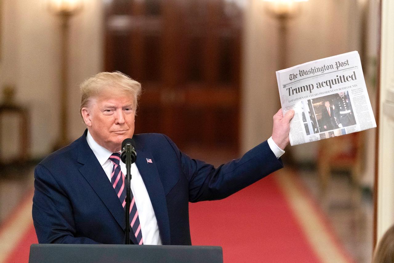 <b> La procédure d'impeachment contre Donald Trump peut-elle être qualifiée de conflit constitutionnel? </b> </br> </br> Par Jacky Hummel
