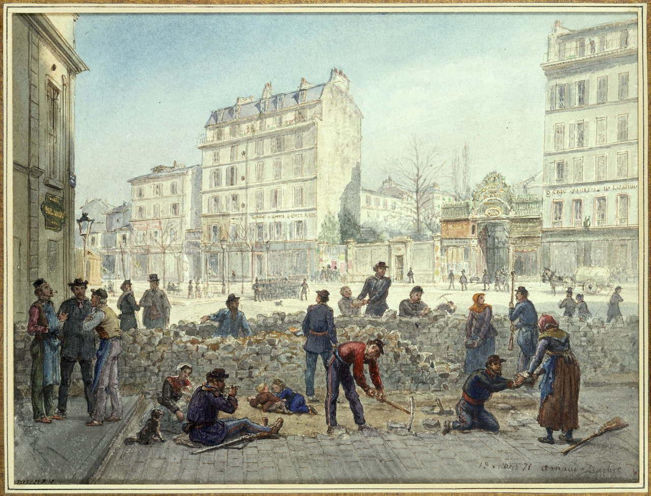 <b> Les 150 ans de la Commune de Paris: étude constitutionnelle d'une guerre civile</b> </br> </br> Par Annette de Moura